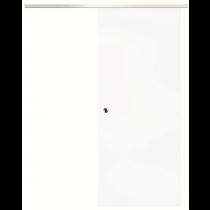 Innentür-Set Schiebetür Weißlack 9010 inkl. Schiebetürsystem Infinity