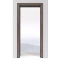 Bild von Steineiche Laminat DuriTop (CPL) Schiebetür-System Classic in der Wand laufend - Jeld-Wen