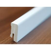 Kleine, weiße Fußleiste (streichfähig) - Interio