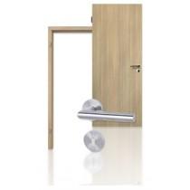 Innentür-Set Lärche gekälkt CPL Tür mit Zarge und Drücker