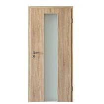 Holzglastür Eiche Sonoma