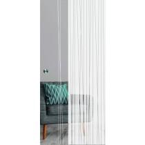 Linie 1 Mattierung Schiebetür Ganzglas mit Motiv matt - Erkelenz