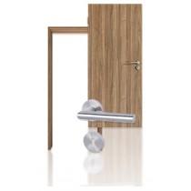 Innentür-Set Nussbaum CPL Tür mit Zarge und Drücker