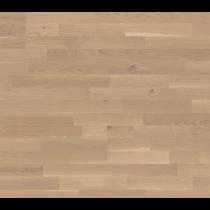 Bodenkomplettset Eiche Cappuccino Pur Schiffsboden Light Parkett lackiert - Interio