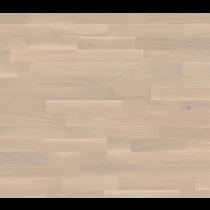 Bodenkomplettset Eiche Creme Pur Schiffsboden Light Parkett lackiert - Interio