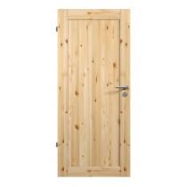Holztür Scalea 2501 Kiefer astig lackiert Frontal