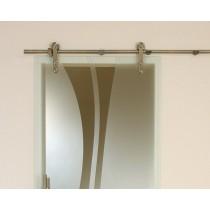 Bild von Beschlagsatz Basic Style Schiebetürsystem für Ganzglastüren - Erkelenz