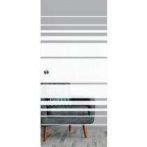 Selina Mattierung Schiebetür Ganzglas mit Motiv matt - Erkelenz