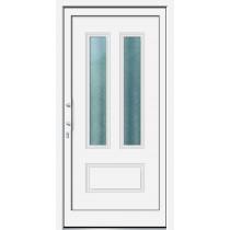 Weiße Basic Kunststoff Haustür Terano 1 - Brand