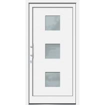 Weiße Basic Kunststoff Haustür Tiros 2 - Brand