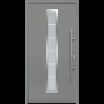 Bild von Motiv 700 Stahl-Aluminium Aktions Haustür Thermo65 mit Glasausschnitt - Hörmann