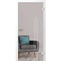 Vertigo Mattierung Glastür mit Motiv matt - Erkelenz