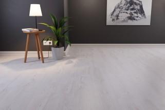 Eiche Weiß Landhausdiele Laminat Superior Standard D2951  - Swiss Krono
