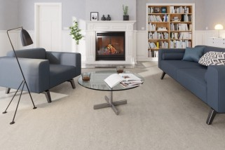 Quarzgrau Linoleum Boden Premium inkl. Trittschalldämmung Puro LID 300 S-7304 - Meister