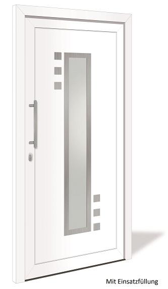 ht 1137 aluminium haust r mit glasausschnitt interio. Black Bedroom Furniture Sets. Home Design Ideas