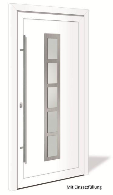 ht 1172 aluminium haust r mit glasausschnitt interio. Black Bedroom Furniture Sets. Home Design Ideas