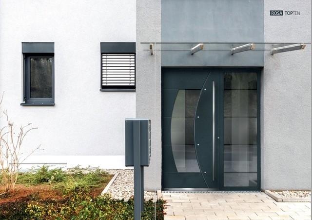 seitenteil f r aluminium haust ren topten interio. Black Bedroom Furniture Sets. Home Design Ideas