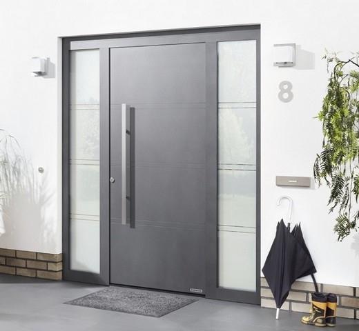 seitenteil f r aluminium haust ren thermosafe h rmann. Black Bedroom Furniture Sets. Home Design Ideas
