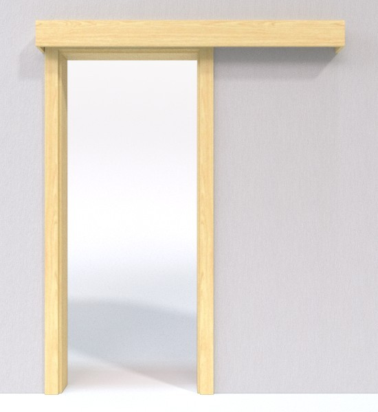 schiebet r system classic vor der wand laufend echtholzfurniert esche jeld wen. Black Bedroom Furniture Sets. Home Design Ideas