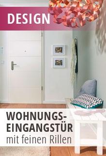 Wohnungseingangstür mit modernem Design