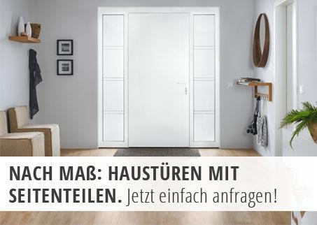 Haustüren mit Seitenteilen