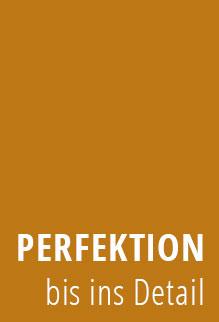 Schriftzug Perfektion bis ins Detail