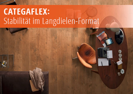 Bodenbeläge, Fußboden,Designboden, Catega Flex, MEISTER