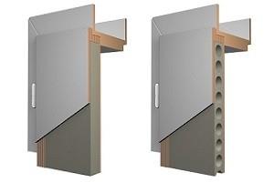 Verschiedene Aufbauarten von Türen