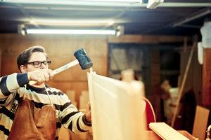 Herstellung Massivholztür Holztür Hochwertig Premium