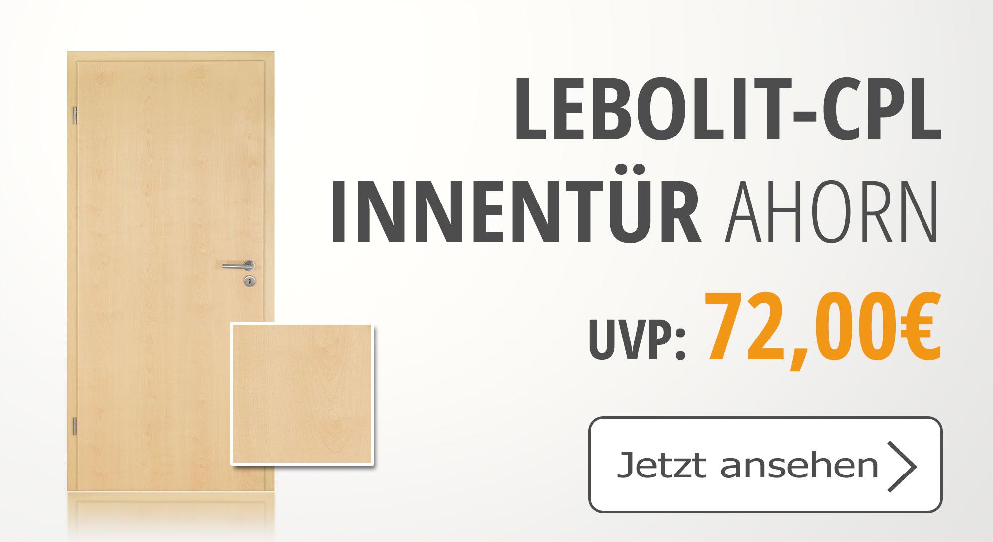 Lebo, Lebolit Ahorn, CPL Tür