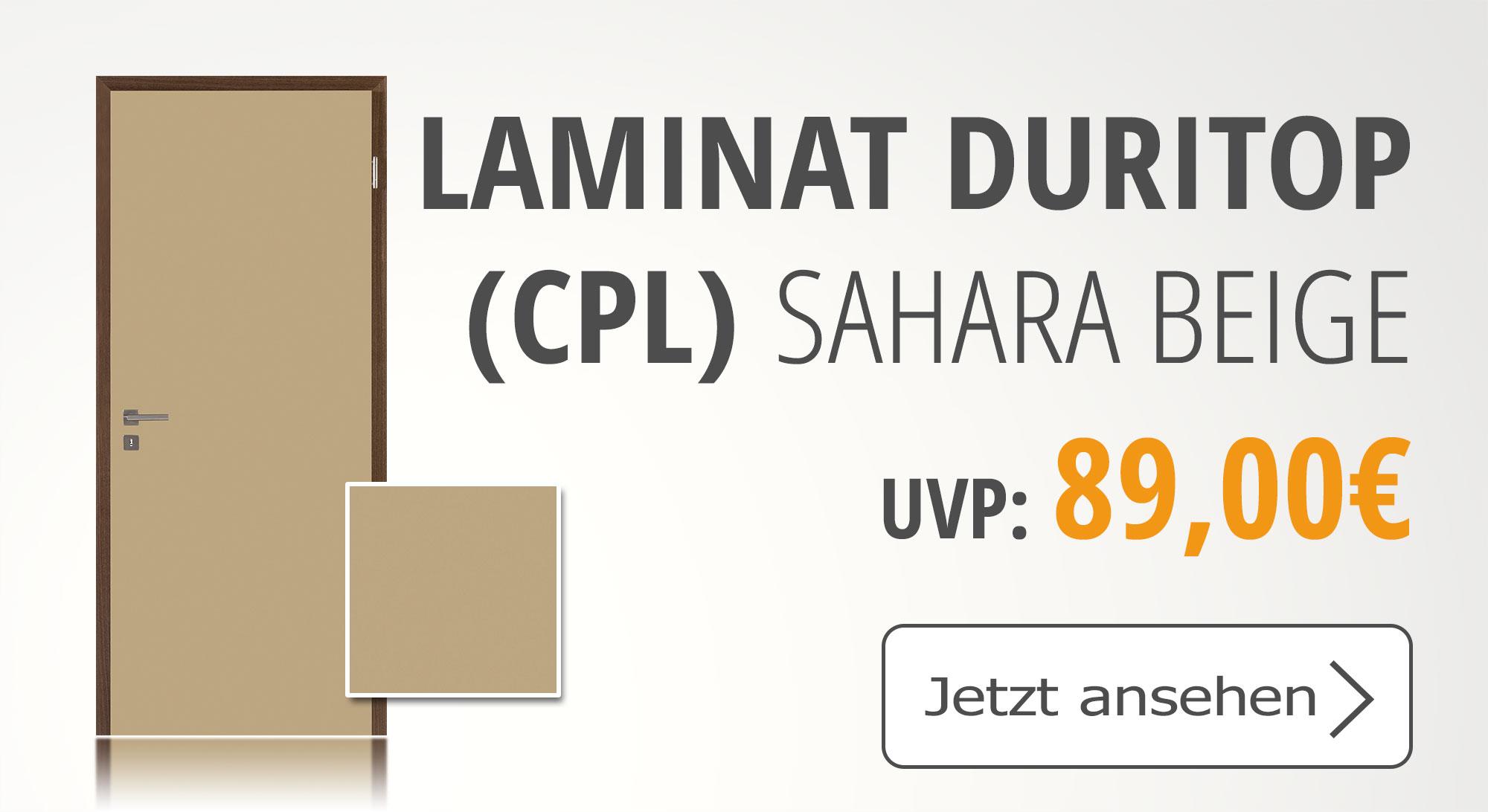 Jeld Wen, Laminat Duritop, Sahara Beige, CPL Tür