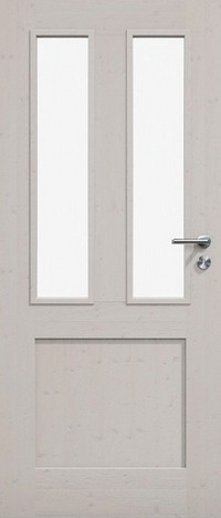 Massivholz, Echtholz, Bauhaus-Stil, Holzfüllung, hochwertig, Glasfüllung premium, Manufaktur