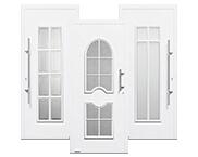Klassische Aluminium Haustüren