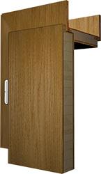 Ansicht Aufbau schichtverleimte Holztür