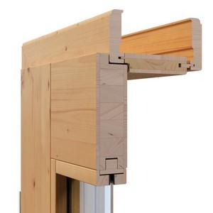 Massivholz, Innentür, Echtholz, Bauhaus, Glasleisten, flächenbündig