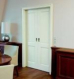 Zweiflügelige Innentüren weiß