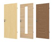Echtholz furnierte Türen