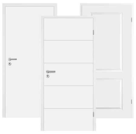 Weißlack Türen Discount billig Mosel-Innentüren Gutschein-Code
