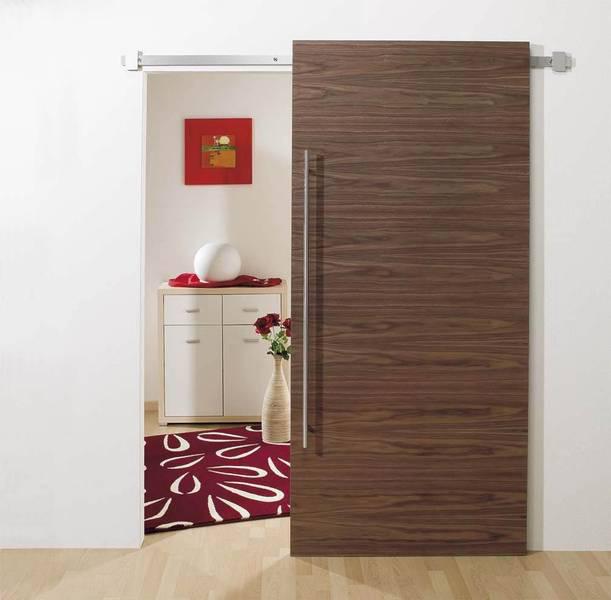 High Quality ... Innentür Stumpf Einschlagend Stumpfoptik Flächenüberdeckend Stumpfe  Inentüren Zimmertüren, Schiebetür Vor Der Wand Aluminium