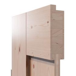 modern, Massivholztür, Bauhausstil, Fichte, lackiert