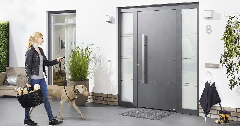 Aluminiumhaustüren online kaufen: ThermoSafe Motiv 872