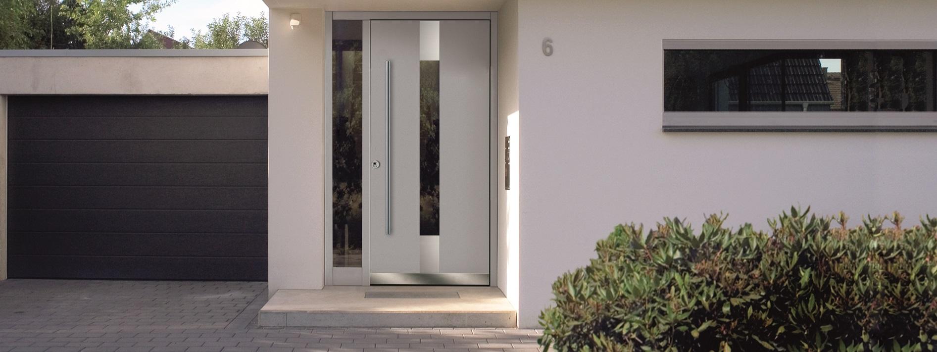 Kunststofftür mit Glasausschnitt online kaufen