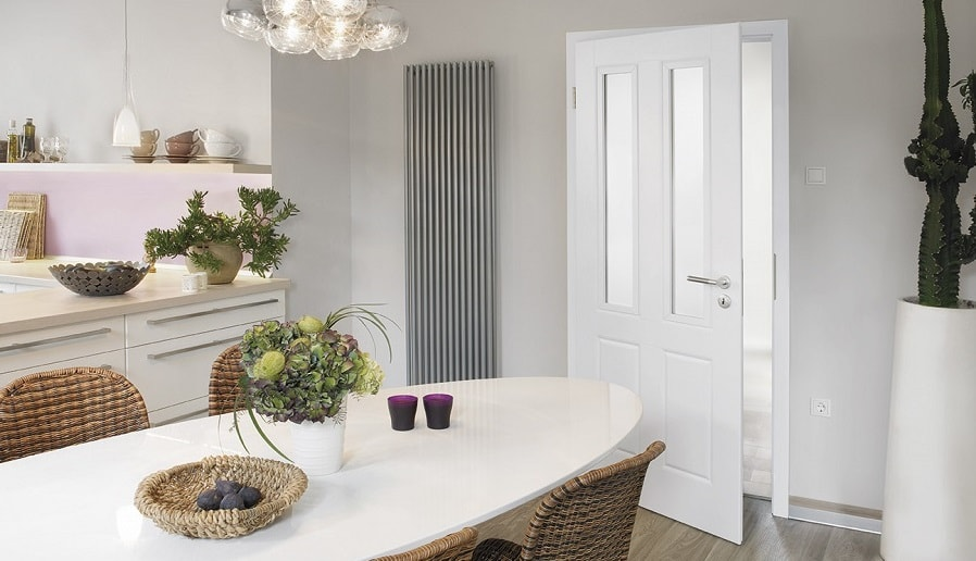 Lebo weiße Zimmertür