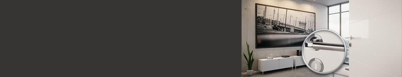 Flachrosetten-Türdrücker für Innentüren online kaufen