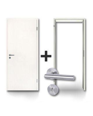 Innentür, Komplettset, Sparen, Tür und Zarge, Komplettelement, mit Zarge