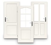Weißlack, Zimmertür, Formelle, Landhaus, Lebo