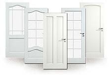 Weißlack, Zimmertür, Innentür, Massivholz, Echtholz, Landhaus
