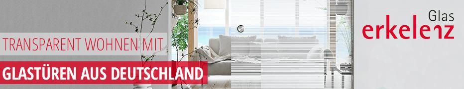 Markenglastüren von Erkelenz, urban, modern, Ganzglastüren, Design-Glastüren