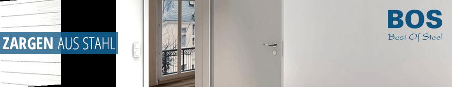 Best of Steel Stahlzargen, robuste Zargen aus Stahl, Edelstahlzargen für Türen