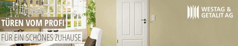 Türen von Westag & Getalit, Innentüren, Zimmertüren, Wohnungseingangstüren, hochwertig